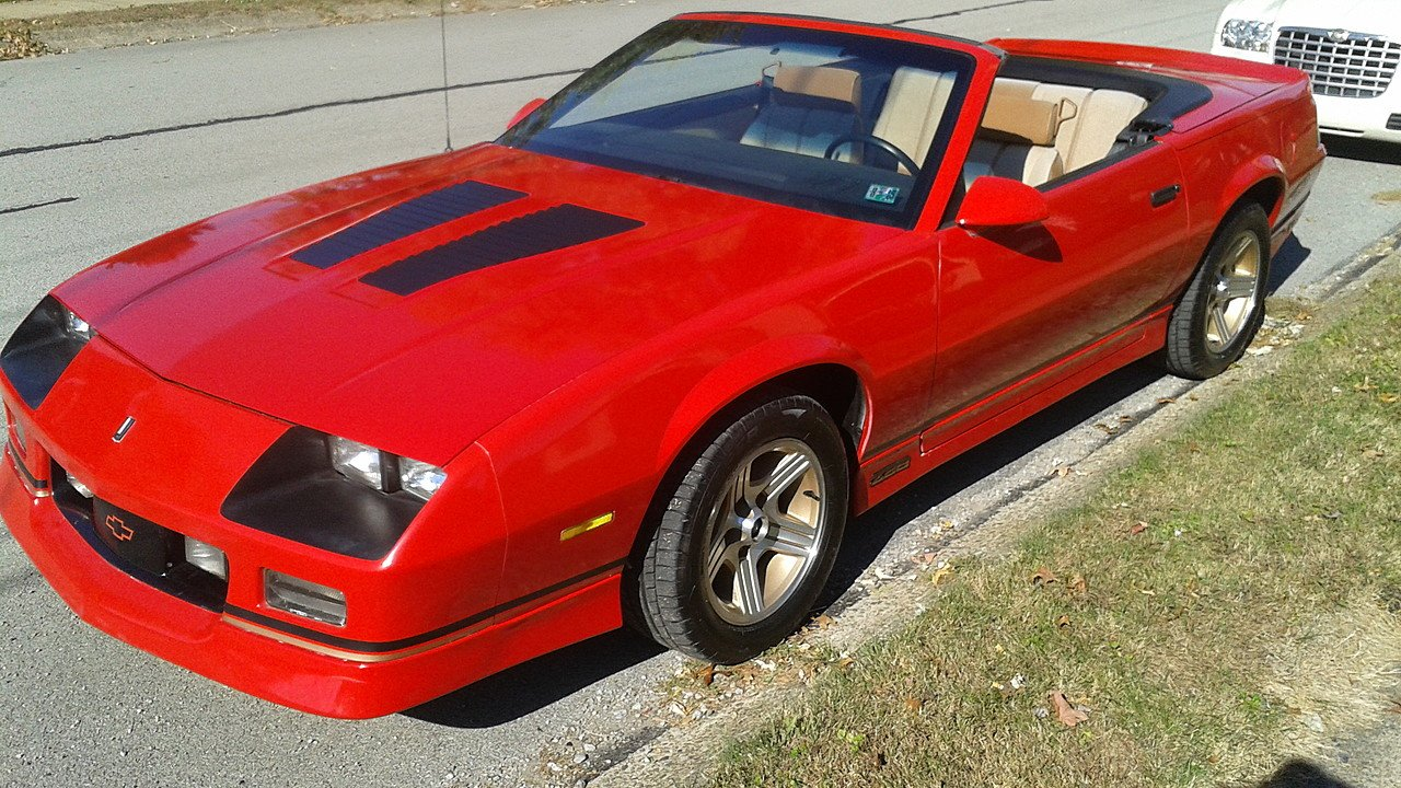 1988 Chevrolet Camaro IROC-Z Convertible for sale 100944513