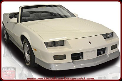 1988 Chevrolet Camaro Convertible for sale 100773404