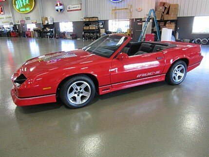 1988 Chevrolet Camaro Convertible for sale 100915823