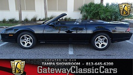 1988 Chevrolet Camaro Convertible for sale 100920800