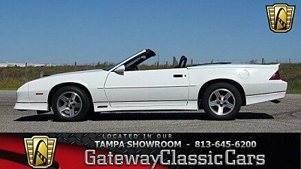 1988 Chevrolet Camaro Convertible for sale 100965660