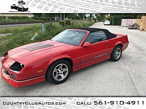 1988 Chevrolet Camaro Convertible for sale 101028177