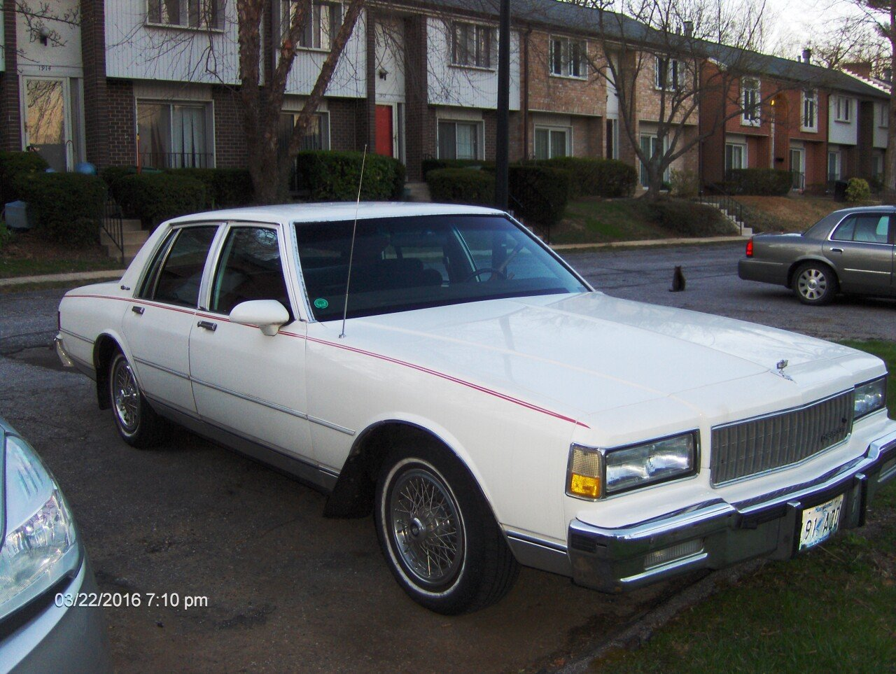 1988 Chevrolet Caprice Classic Brougham Sedan for sale ...