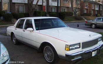 1988 Chevrolet Caprice Classic Brougham Sedan for sale 100912674