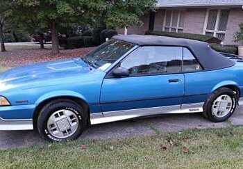 1988 Chevrolet Cavalier Z24 Convertible for sale 100791603