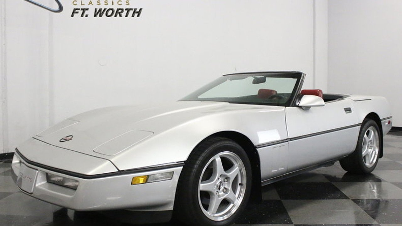 1988 Chevrolet Corvette Convertible for sale 100855092