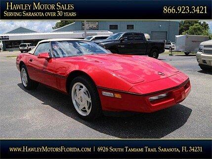1988 Chevrolet Corvette Convertible for sale 101013267