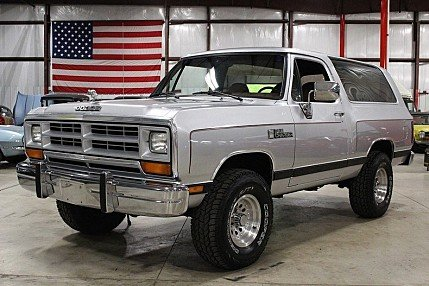 1988 Dodge Ramcharger 4WD for sale 100873170