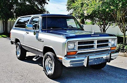 1988 Dodge Ramcharger 4WD for sale 100895684