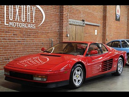 1988 Ferrari Testarossa for sale 100845868