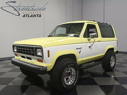1988 Ford Bronco II 4WD for sale 100901183
