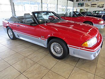 1988 Ford Mustang GT Convertible for sale 100922455