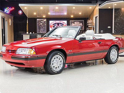 1988 Ford Mustang LX V8 Convertible for sale 100850296