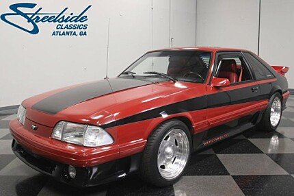 1988 Ford Mustang GT Hatchback for sale 100957186