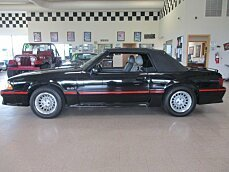 1988 Ford Mustang GT Convertible for sale 101000416