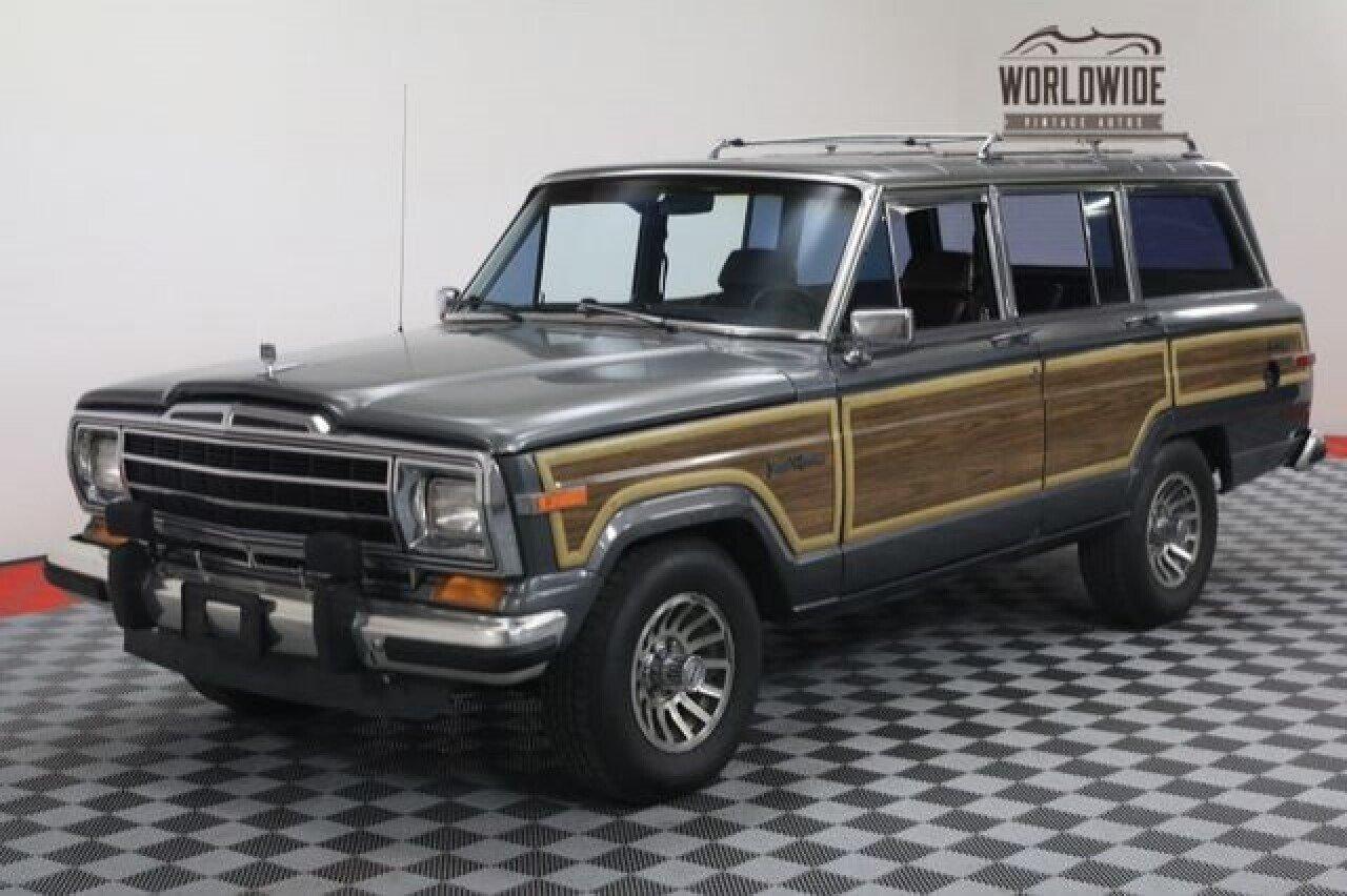 Jeep Grand Wagoneer For Sale >> 1988 Jeep Grand Wagoneer For Sale Near Denver Colorado 80205