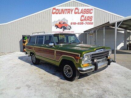 jeep grand wagoneer classics for sale classics on autotrader. Black Bedroom Furniture Sets. Home Design Ideas