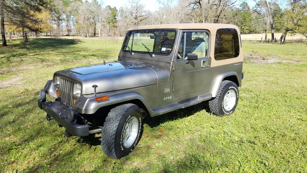 1988 Jeep Wrangler 4wd Sahara For Sale Near Montogomery