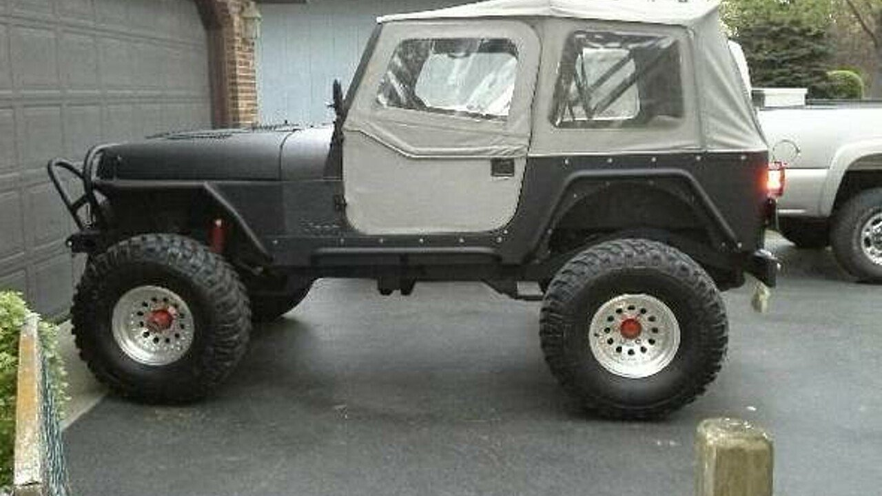 1988 Jeep Wrangler for sale 100791636