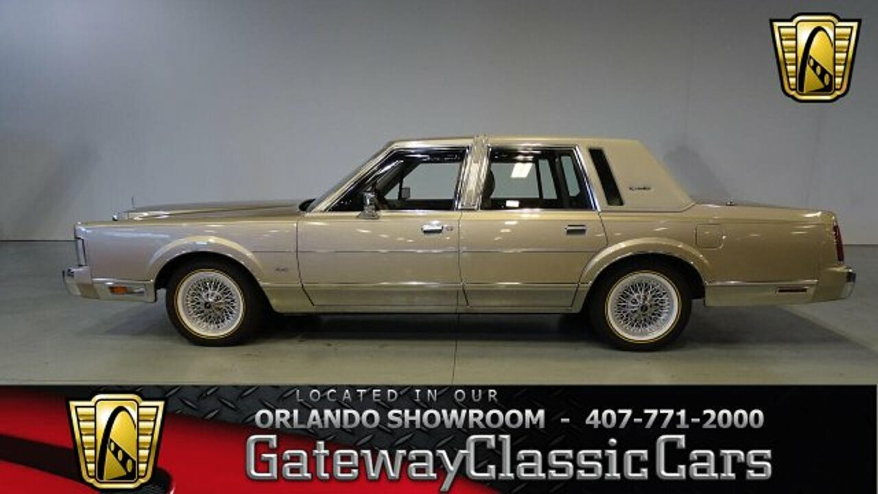 1988 Lincoln Town Car Signature for sale 100949728