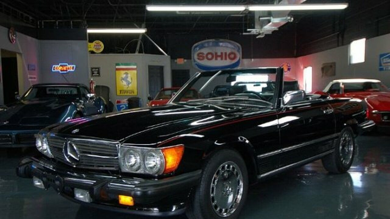 1988 Mercedes-Benz 560SL for sale 101014635
