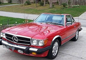1988 Mercedes-Benz 560SL for sale 101000571