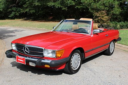 1988 Mercedes-Benz 560SL for sale 101032203