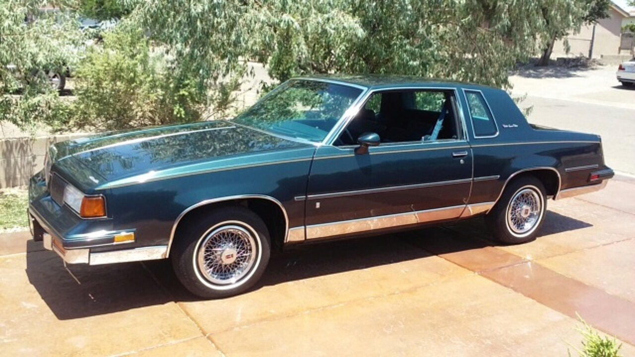 1988 oldsmobile cutlass supreme classic brougham coupe for sale near rio rancho new mexico. Black Bedroom Furniture Sets. Home Design Ideas
