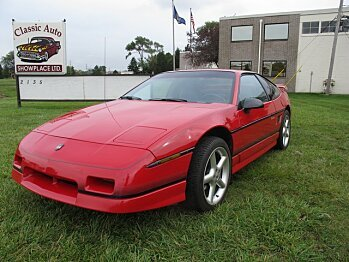 1988 Pontiac Fiero for sale 100922136