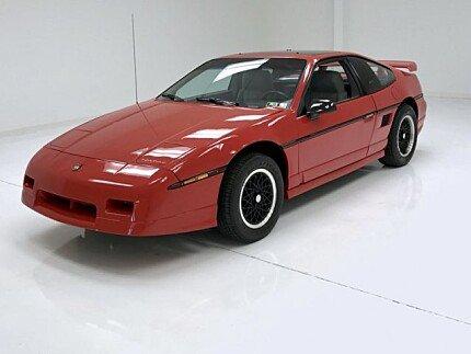 1988 Pontiac Fiero GT for sale 100999170