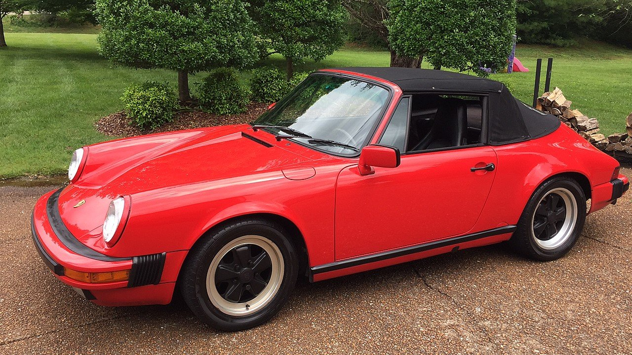 1988 Porsche 911 Carrera Cabriolet for sale 100881856