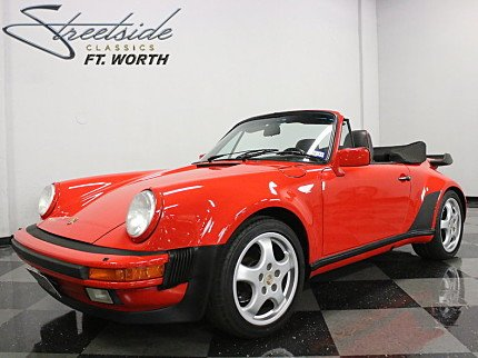 1988 Porsche 911 Turbo Cabriolet for sale 100881393