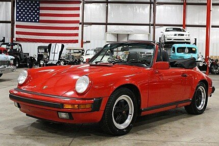 1988 Porsche 911 Carrera Cabriolet for sale 100934728