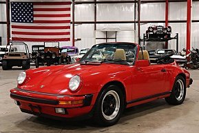 1988 Porsche 911 Carrera Cabriolet for sale 101051822
