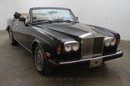 1988 Rolls-Royce Corniche II for sale 100743171