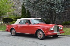 1988 Rolls-Royce Corniche II for sale 100752159