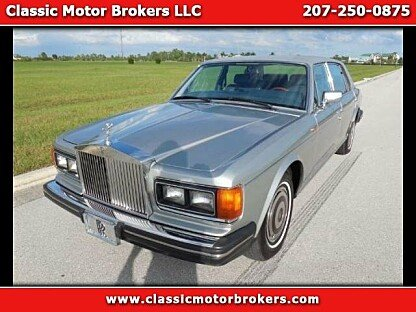 1988 Rolls-Royce Silver Spur for sale 100877706