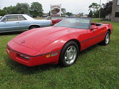 1988 chevrolet Corvette Convertible for sale 101006002