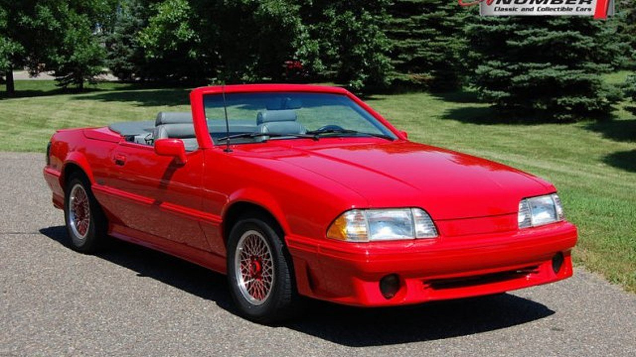 1988 ford Mustang LX V8 Coupe for sale 101002675