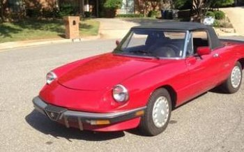 Alfa Romeo Spider Classics For Sale Classics On Autotrader - 1990 alfa romeo spider for sale