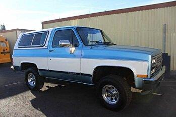 1989 Chevrolet Blazer 4WD for sale 100724506