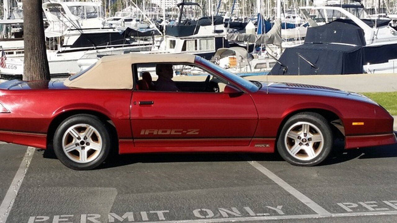 1989 Chevrolet Camaro for sale 100857398