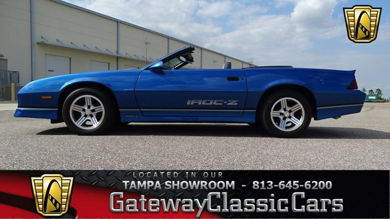 1989 Chevrolet Camaro Convertible for sale 100949408