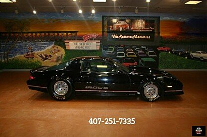 1989 Chevrolet Camaro for sale 100890661
