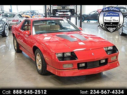 1989 Chevrolet Camaro Coupe for sale 100929468