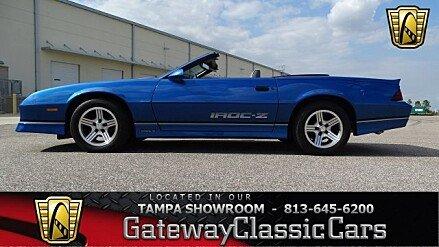 1989 Chevrolet Camaro Convertible for sale 100949408