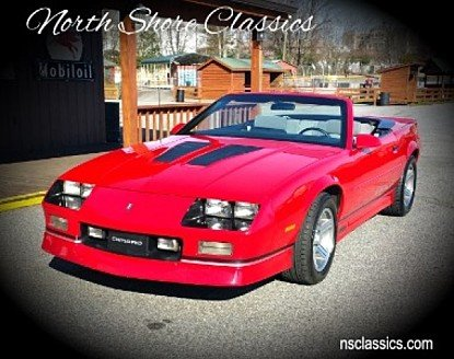 1989 Chevrolet Camaro Convertible for sale 100983727