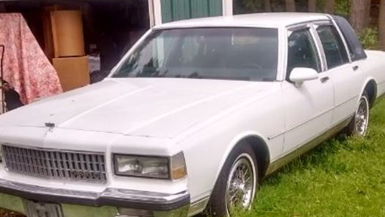 1989 Chevrolet Caprice Classic Brougham Sedan for sale 100889213