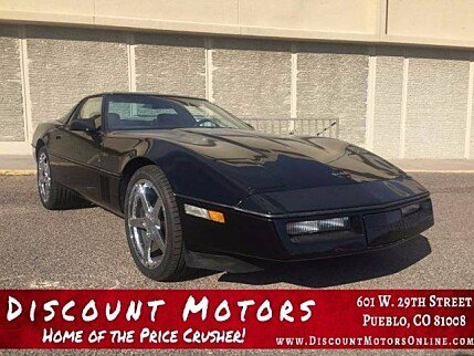 1989 Chevrolet Corvette Coupe for sale 100833907