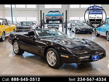 1989 Chevrolet Corvette Convertible for sale 100848787